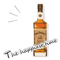 一番幸せな時間は『ジャック ダニエル』
