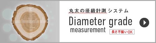 【丸太の径級計測システム】[Diameter grade measurement](丸太の長さがバラバラでもOK)ページへのリンク