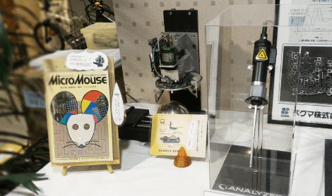 レーザ傷検査装置(シグマ株式会社様 ANALYZER)模型 展示中4