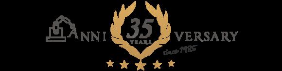 おかげさまで35TH since1985