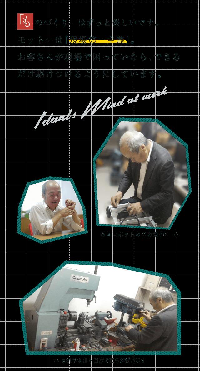 モバイル用画像(井谷仕事風景・マインド)
