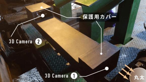 【径級計測システム KQ-1000】現場写真②