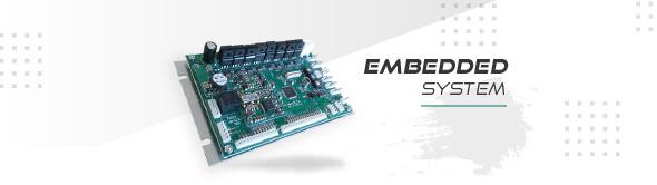 組み込みシステム(embedded system)のイメージ